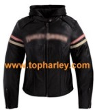 Harley women's Leather Miss Enthusiast jackets 97038-11VW