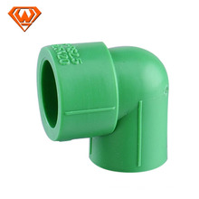plastic ppr elbow pipe fitting