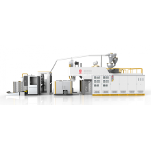 Fabricación automática de máquina de película extensible de alta velocidad con brazo oscilante