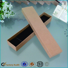 Reciclado Brown Kraft Paper Jewerly Box