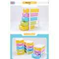 Office 5 layers box plastic stackable storage drawers
