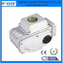 Actuador eléctrico mini 24V DC para válvula de bola y válvula de mariposa KLST-02
