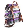 coloré d'impression toile de sac à dos