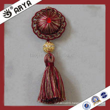 Elegant Diamond Curtain Tassel Clips Decorative Red Clips