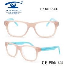 2015 Colorful New Arrival Fashion Hand Made Kids Acetate Optical Frame (HK13027)
