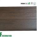 Decking plástico de madeira do revestimento do composto WPC exterior da co-extrusão exterior da grão de madeira
