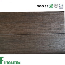 Plataforma composta impermeável da Co-extrusão WPC da grão de madeira para decorativo