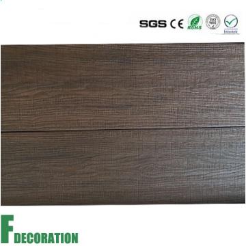 Cubierta compuesta de la coextrusión impermeable WPC del grano de madera para decorativo