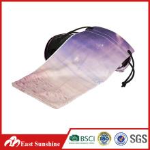 Bolso de encargo de las gafas de sol de Microfiber de la impresión de la transferencia al por mayor de Themal