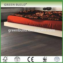 T & G system Revestimento em madeira de nogueira cinza