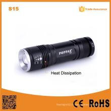 Alibaba en gros étincelant en aluminium 10W torche torche LED