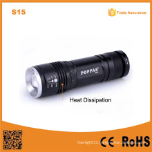S15 High Power Aluminum Powerful LED Torch Flexible Handheld LED Lights