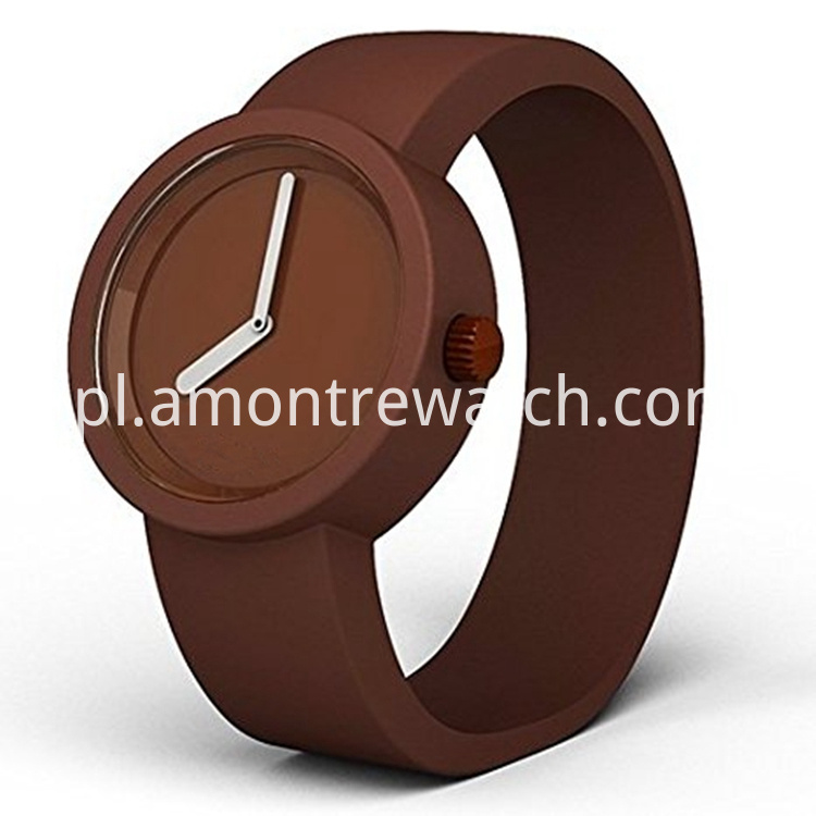 unisex brown colour watch