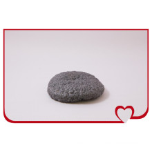 Hottest 100% Natural Konjac Sponge Bamboo Black Round Puff Beauty Face Cleaning Sponge