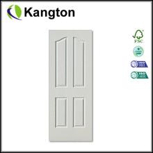 White Primer 4 Panels HDF Door Skin (door skin)