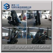 Grúa plegable hidráulica plegable del camión del auge de 5000 kilogramos 5t 2