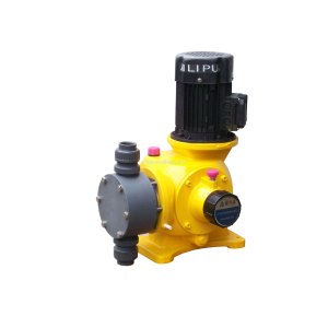 Leading for Big Flowrate Mechanical Diaphragm Dosing Pump Water Plant Big Capacity Flow Diaphragm Injection Pump supply to Malaysia Factory