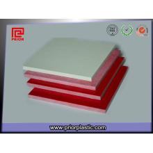 Gpo-3 Feuille pour les panneaux de contrôle avec la couleur rouge et blanche