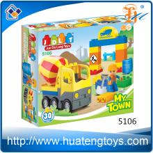 2016 Nuevos juguetes de bloques de construcción de ingeniería educativa para niños