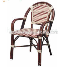 factory wholesale price outdoor bamboo like furniture fabric chair restaurant chair