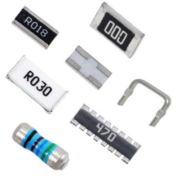 Resistores (sensores de corrente, filme fino de precisão ultra fina, resistência MELF) Resistores
