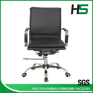 Anji кожаный барселона стул