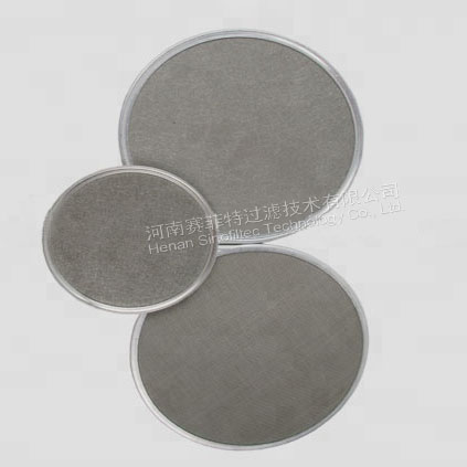 316L-stainless-steel-Wire-Mesh-Discs-filter