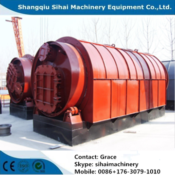 waste plastics to furnace oil equipment