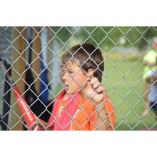 Prix d'usine High Qaulity Sports Ground Galvanized Chain Link Fence