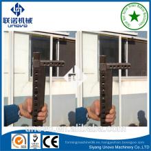 Gabinete eléctrico nueve pliegue rack 9 veces perfil para la construcción