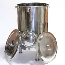 Mash Tun avec Recirculation Fitting and Manway