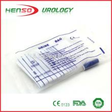 Saco de drenagem de urina de PVC esterilizado Henso