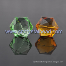 Hot Selling Crystal Hexagon shape Jewelry Crystal Bead