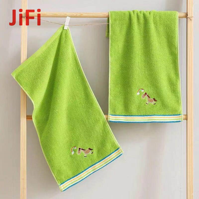 Kids Baby Hot Selling Pretty Design Soft Cotton Face Towel 02