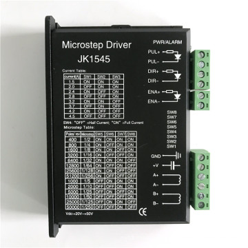 stepper motor driver for 57mm stepper motor with 20~50VDC input 1.5~4.5A output current