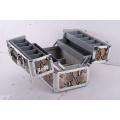 Profession Case Case Aluminum Tool Case, Estuche de almacenamiento EVA