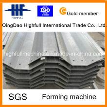 Chuva de aço Gutter / Q235 Steel Gutter