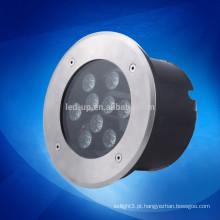 9w iluminação subterrânea de LED impermeável