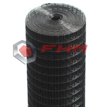 Black Vinyl Coated Welded Wire Mesh untuk Taman