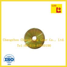 Высококачественная углеродистая сталь с цинковым покрытием - диск с желтой пластиной