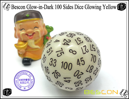 Bescon Glowing Yellow D100-2