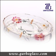 Divided Elegant Glass Plate
