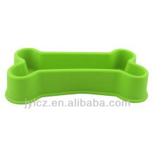 Silikonknochenform-Haustierschüssel