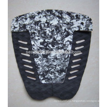 balck mixed white EVA pad for SUP/surfboard tail pad