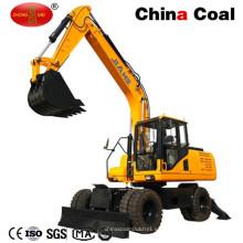 Hl135 13.5 Ton Excavadora de ruedas de gran capacidad