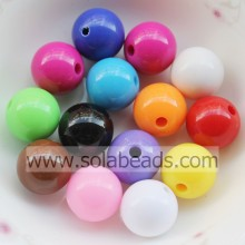 Top vender 18mm anel bola lisa Pandora perla