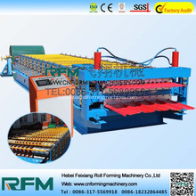 Corrugated Colorful Coating Steel Roll Forming Machine