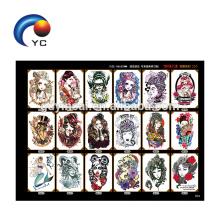 Braço tatuagens das tatuagens do corpo impermeável das mulheres da grande etiqueta do tatuagem do projeto do braço
