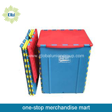 High Quality Wide Plastic Foldable Step Stool