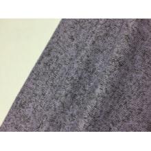 R / T Loop Jersey tecido de malha sólida